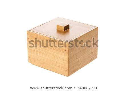 bamboo box gift stock photo © stoonn