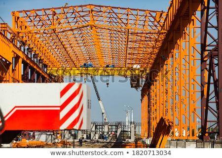 Two cranes assembly Stock photo © deyangeorgiev