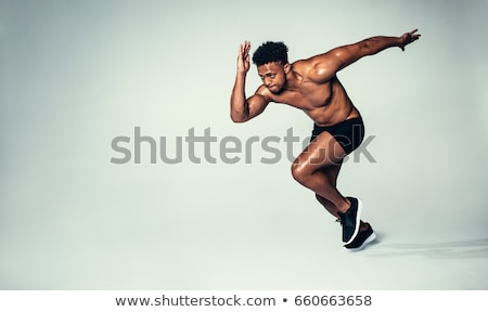 Male fitness model Stock photo © curaphotography