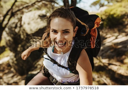 Female Mountaineer Stock photo © SimpleFoto