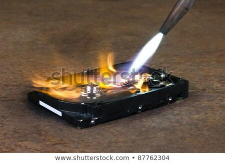 welding on a hard drive Stock photo © gewoldi
