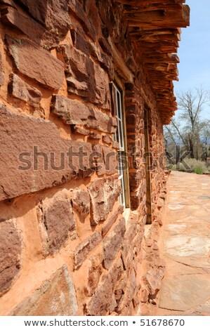 каменные · кабины · трубы · весны · здании · окна - Сток-фото © gwhitton