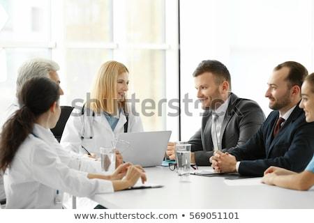 女性 · 医師 · ビジネスマン · インド · 成人 · 話し - ストックフォト © iofoto