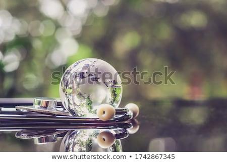 estetoscopio · mundo · mundo · problemas - foto stock © devon