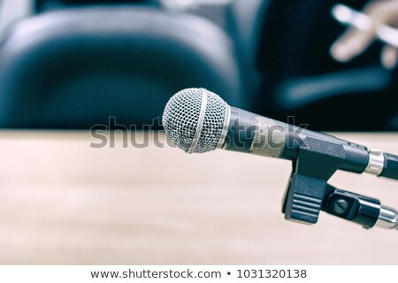 Reporter waiting for interview Stock photo © photography33