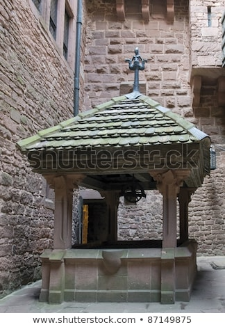 inside Haut-Koenigsbourg Castle in France Stock photo © prill