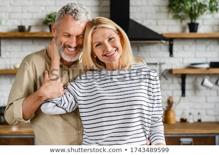 couple embracing tenderly stock photo © photography33