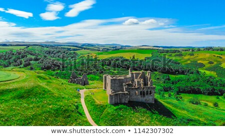 замок руин здании история камней древних Сток-фото © kaycee