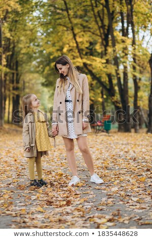 Portrait of young beautiful girl at park Stock photo © vlad_star