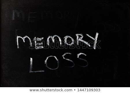 Business- word written on a smudged blackboard Stock photo © bbbar
