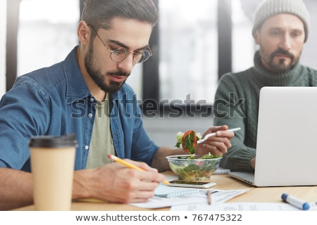 no time to eat a meal stock photo © photography33