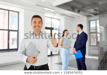 женщины · агент · по · продаже · недвижимости · рабочих · столе · женщину · служба - Сток-фото © photography33