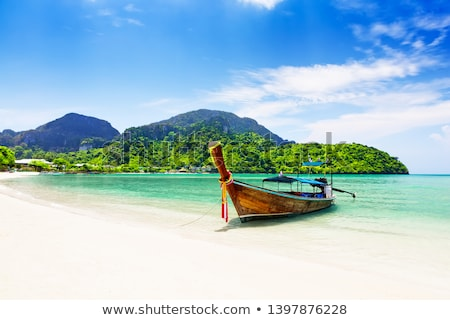 rocks and sea in Krabi Thailand Stock photo © Pakhnyushchyy