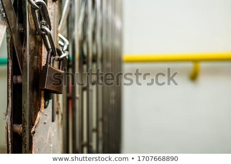 Chain Padlock Stock photo © idesign