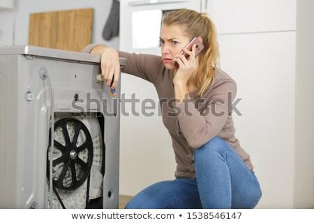 cute female plumber stock photo © photography33