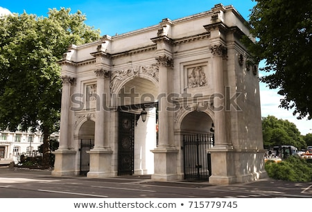 marble arch london stock photo © antartis