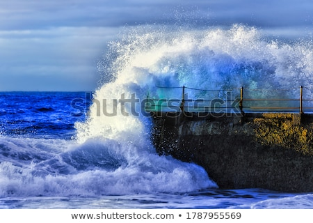 Cyclone at Bondi Beach, Sydney Stock photo © jrstock