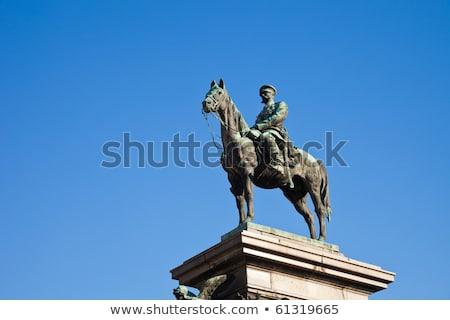 The statue of Tsar Alexander II, Sofia, Bulgaria Stock photo © dinozzaver
