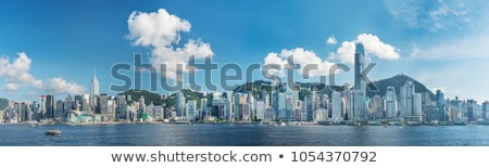 Victoria harbor Stock photo © joyr