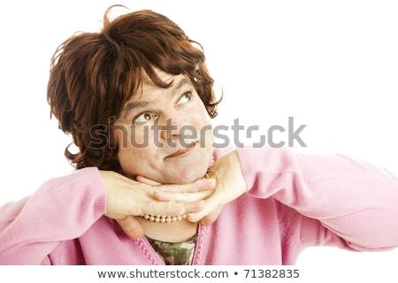 肖像 クイーン 男 女性 孤立した ストックフォト © Discovod