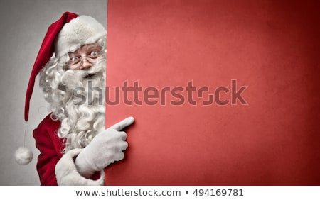 Noël design feuille bleu blanche Photo stock © rioillustrator