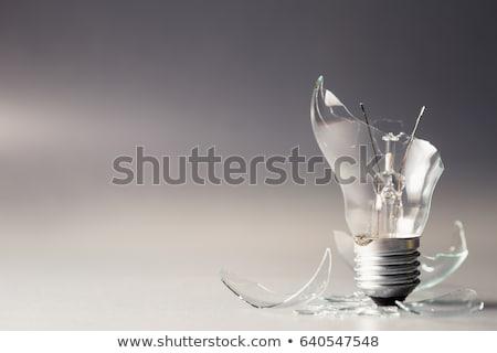 fracassado · papel · vazio · escritório · metal - foto stock © stocksnapper