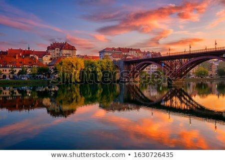 Maribor skyline Stock photo © joyr