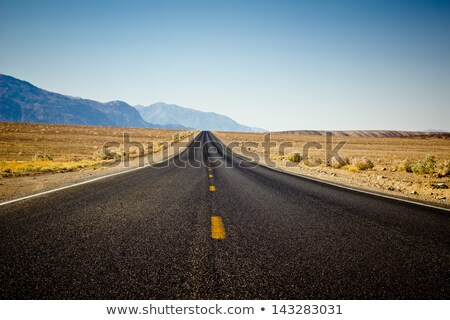 Halál völgy utca sehol sivatag nem Stock fotó © weltreisendertj
