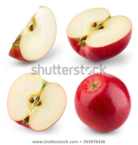 sliced apple halves stock photo © michaklootwijk
