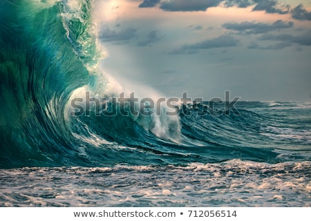 Giant waves Stock photo © Anna_Om