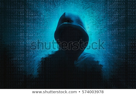 information theft on dark digital background stock photo © tashatuvango