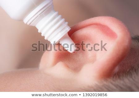 Ear drops Stock photo © mady70