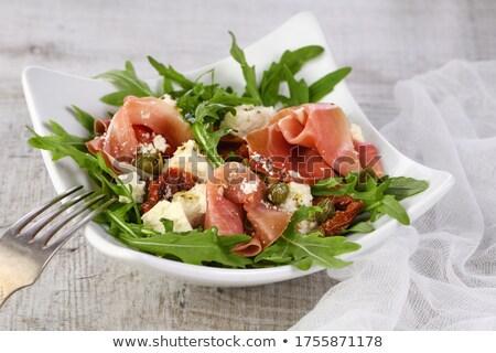 prosciutto · sandwich · brood - stockfoto © wjarek