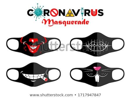 clown · cartoon · illustratie · grappig · hoorn - stockfoto © blamb