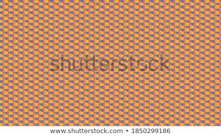 Blauw · mozaiek · illustratie · textuur · abstract · achtergrond - stockfoto © arsgera