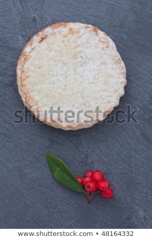 Two short crust pastry mince pies Stock photo © raphotos