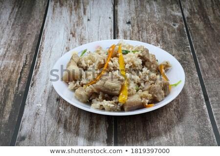 Stilleri baharatlı sos yerel gıda Stok fotoğraf © punsayaporn