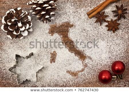 クリスマス イタリア イタリア語 フルーツケーキ 現在 クリスマスツリー ストックフォト © aladin66