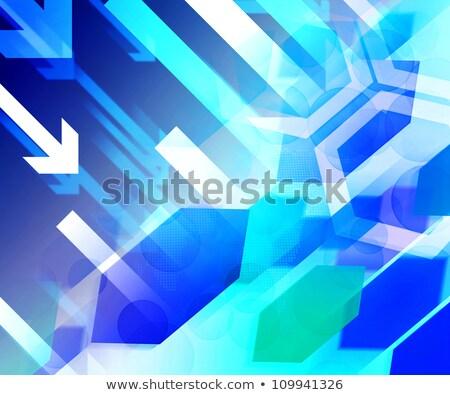 crecimiento · incertidumbre · creciente · verde · gráfico · de · barras · blanco - foto stock © lightsource