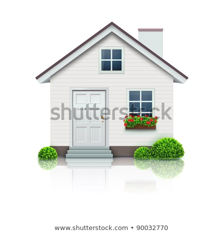 house glossy vector icon stock photo © mr_vector