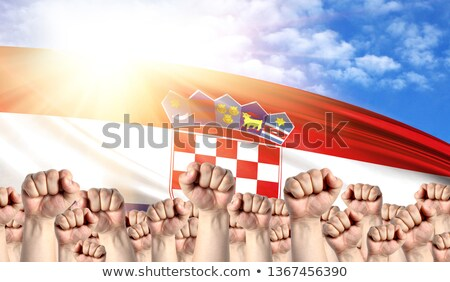 Croatia Labour movement, workers union strike Stock photo © stevanovicigor