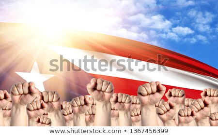 Puerto Rico Labour movement, workers union strike Stock photo © stevanovicigor