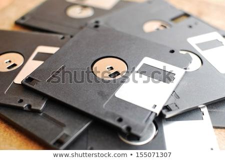 disk · yalıtılmış · beyaz · 3d · render · iş · ofis - stok fotoğraf © dezign56