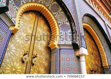 古代 · 市 · モロッコ · パノラマ · ユネスコ · 世界 - ストックフォト © ajlber