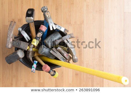 Large selection of different hammers Stock photo © ozgur