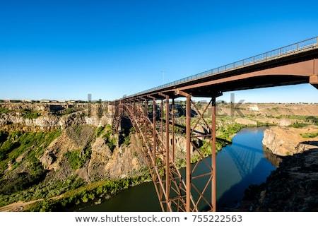 the snake river canyon near twin falls idaho stock photo © ozgur
