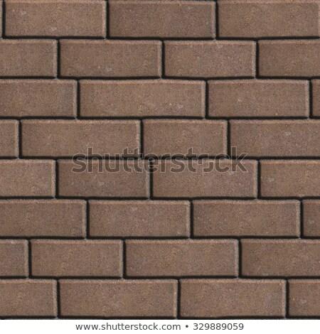 concrete slabs brown in the form rectangles of different value stock photo © tashatuvango