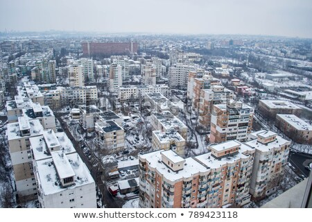 şehir Romanya Bina seyahat kentsel Stok fotoğraf © razvanphotos