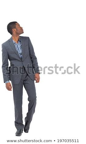 Grave empresario adelante blanco negocios Foto stock © wavebreak_media