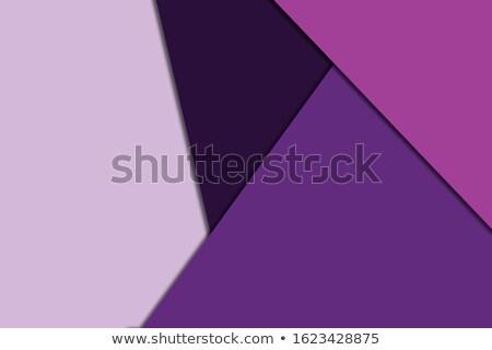 紫色 抽象的な 低い ポリゴン スタイル 実例 ストックフォト © patrimonio